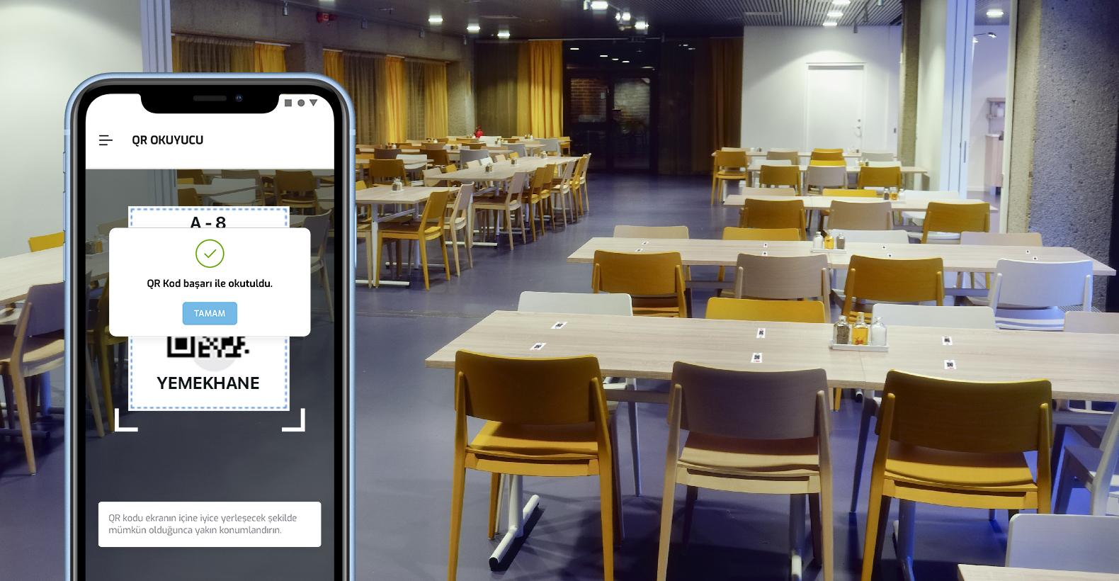 Yemekhane - Eğitim ve Toplantı Salonları İçin QR Barkod Uygulaması